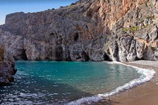 Παραλία Καλάμι Μυλοπόταμος Κύθηρα